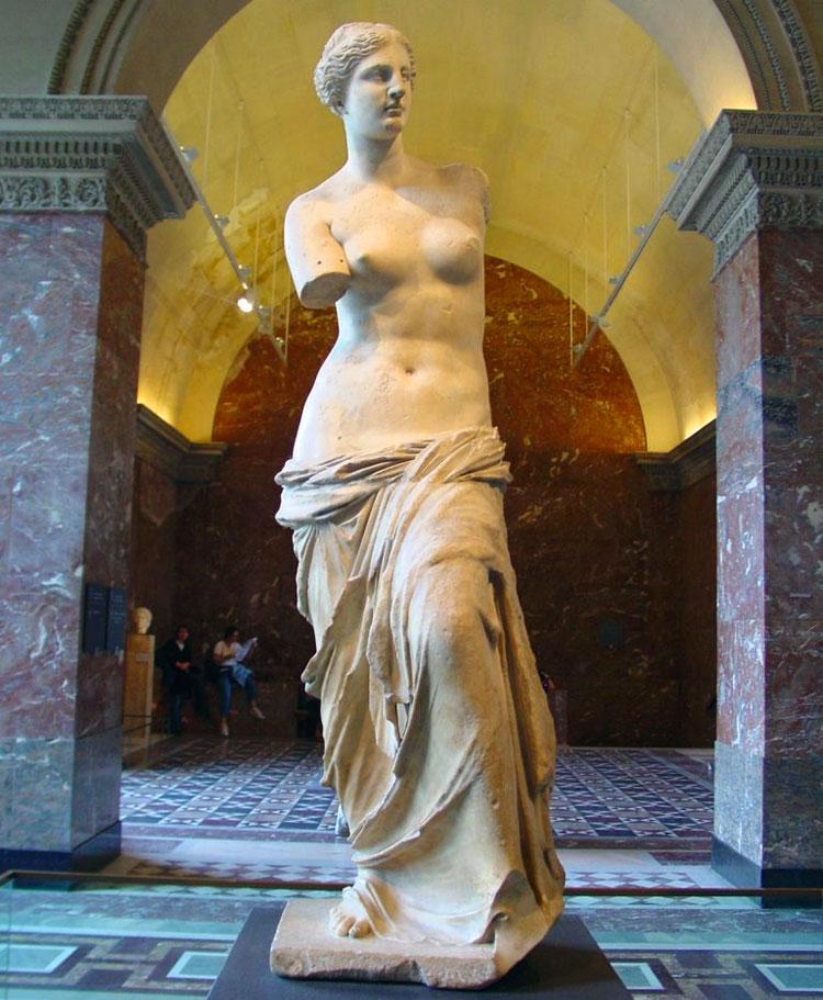 Venere-di-Milo-Louvre