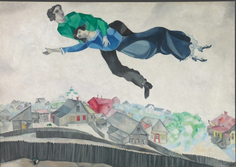 Marc-Chagall-Sulla-città-19141918-Galleria-Statale-Tret'jakov-di-Mosca-©-The-State-Tretyakov-Gallery-Moscow-Russia-©-Chagall-®-by-SIAE-2018.jpg